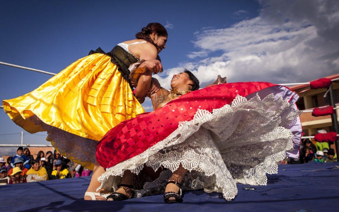 Las Cholitas de Bolivie