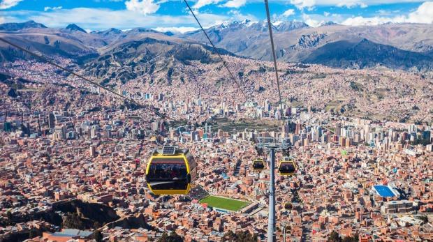 La Paz, cité merveilleuse