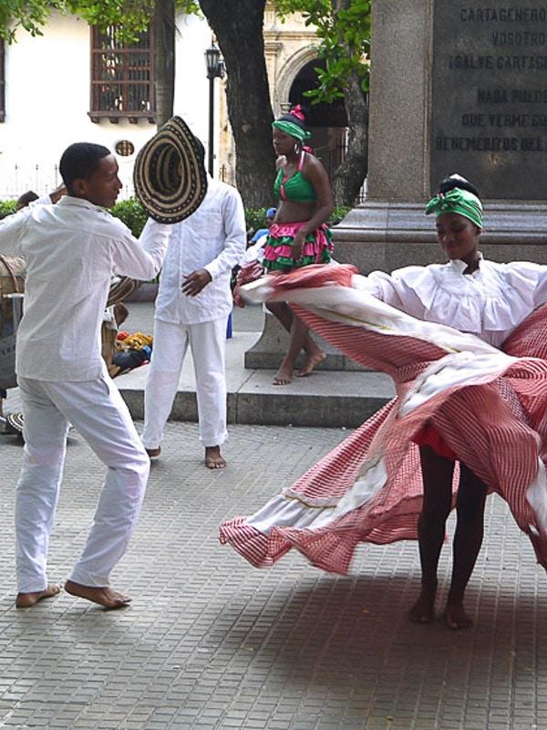 Carthagène danseurs