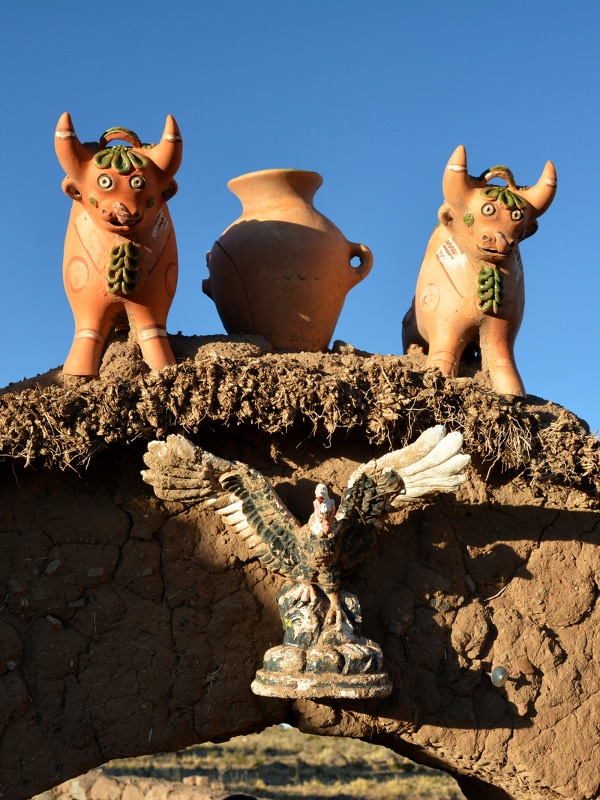 Céramiques de Pukara Pérou