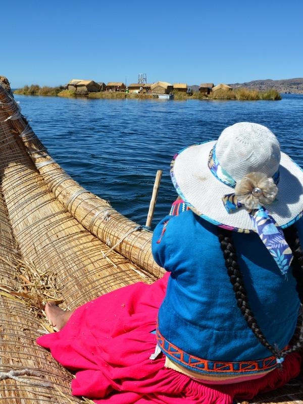 îles flottantes Uros Lac Titicaca