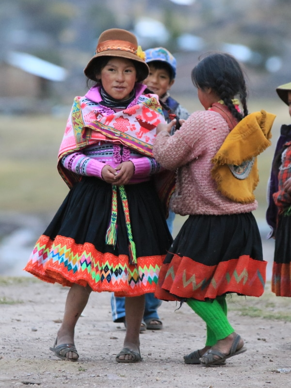 Enfants Canyon de Colca