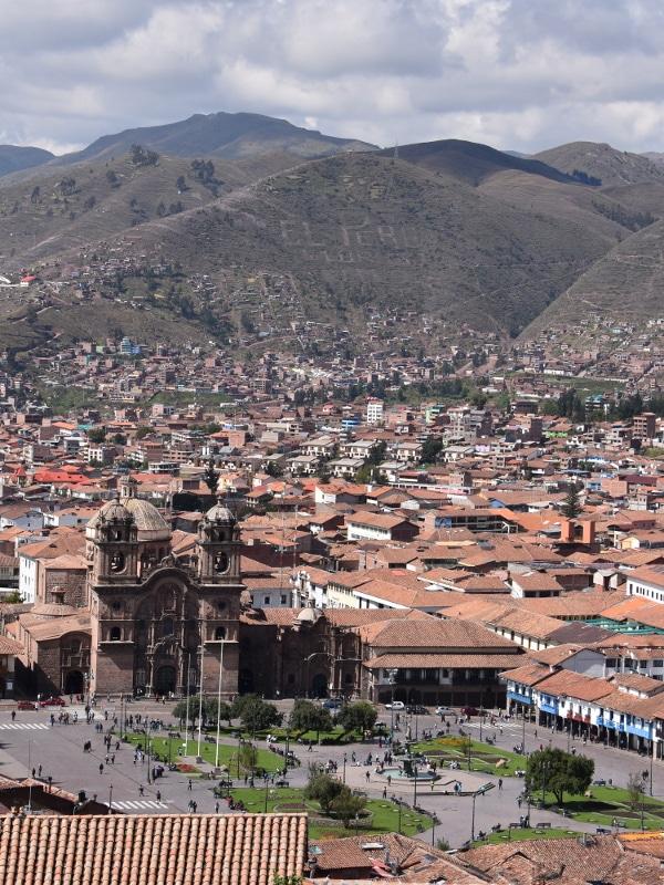 Cusco Place d'Armes