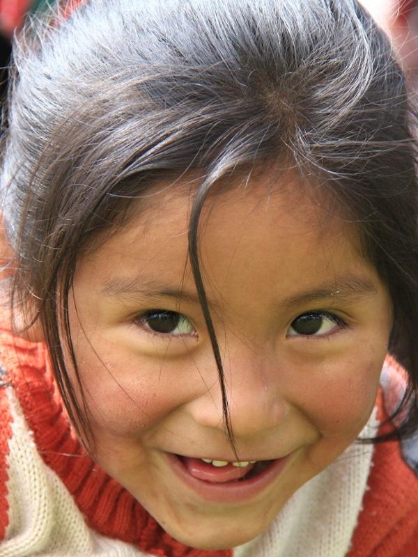 sourire enfant Pérou