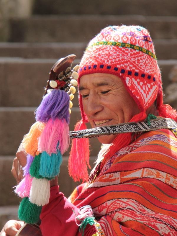 Musicien péruvien Cusco