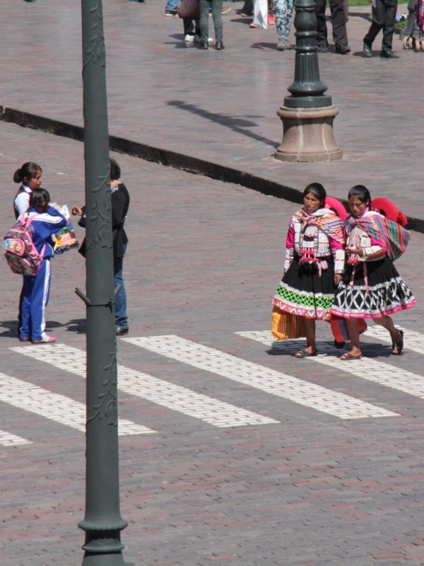 Tenues traditionnelles Cusco
