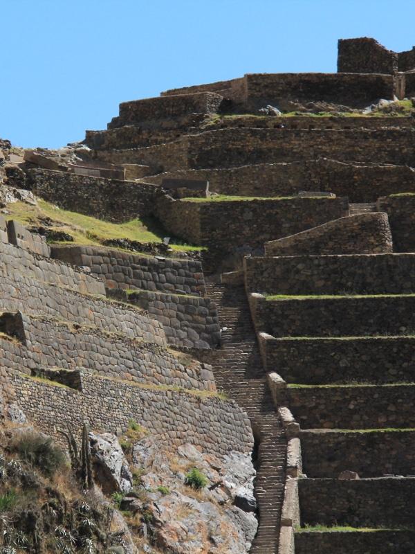 Ollantaytambo Ruines
