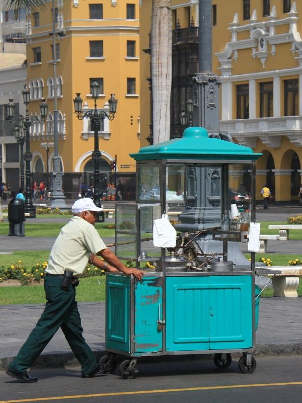 Marchand ambulant Lima