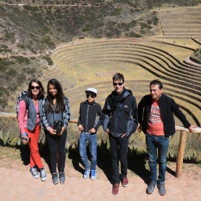 Le Pérou en famille.