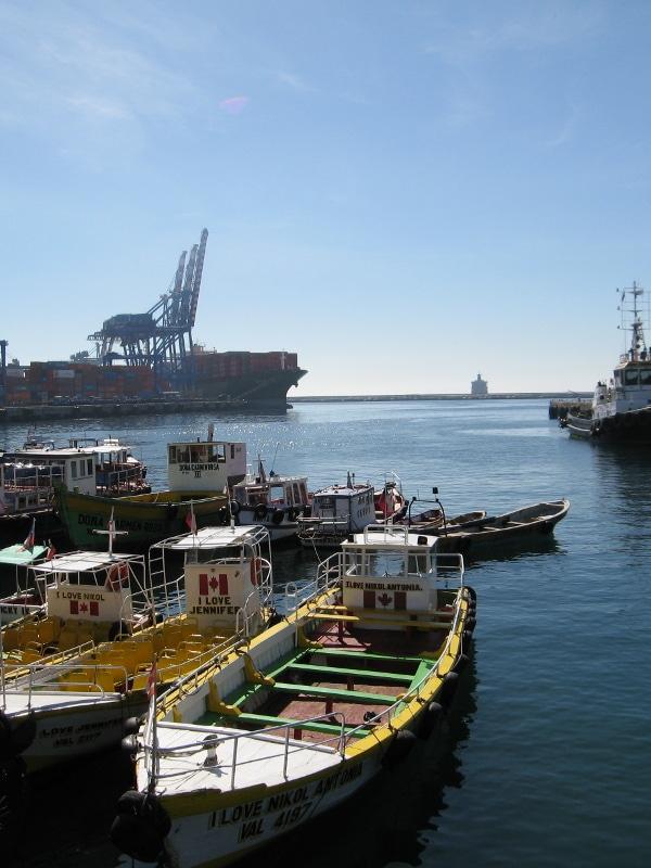 Port de Valparaiso Chili