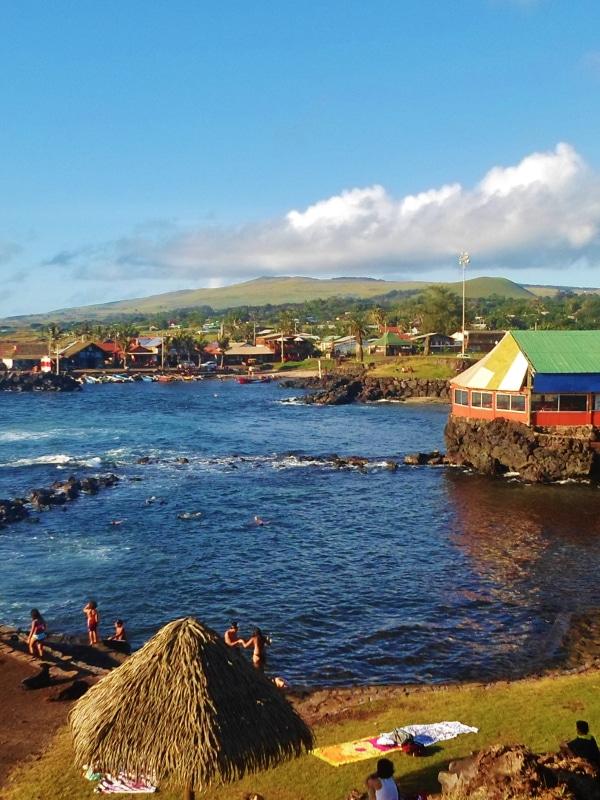 Hanga Roa île de Pâques Chile