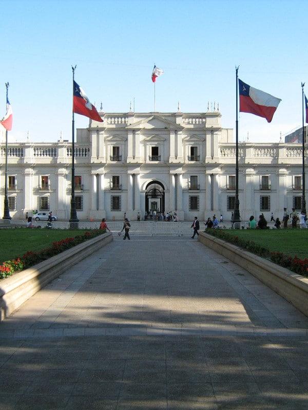 Palais de la Monnaie Santiago Chile